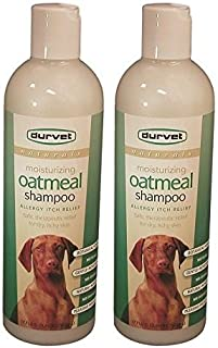 (2 Pack) Durvet Naturals Oatmeal Shampoo, 17-Ounce Per Bottle