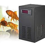 YJINGRUI Enfriador de Agua de Acuario Sistema de enfriamiento de Tanque de Peces de 9 galones 20-30 ℃ para Pasto de Agua/Cristal/camarones/Medusa/Coral (10-40℃, 5Gal/20L)