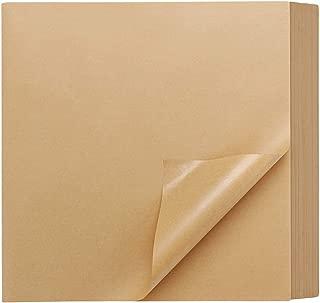 200 Pcs Kraft Brown Deli Butcher Papers, Eusaor 11.6