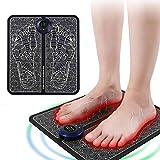 MILONT-Fußmassageräte,EMS Elektrisches Fußmassagegerät, Intelligente Fussmassagegerät Elektrisch Massagematte ,Fußmassage für die Durchblutung Muskelschmerzen Linderung