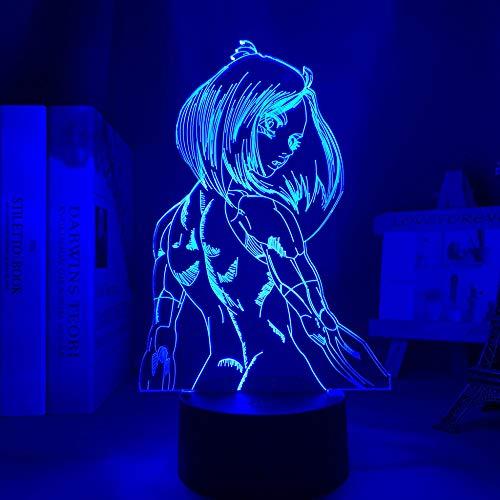 Figura decorativa de ángel en 3D con luz nocturna LED para dormitorio o habitación