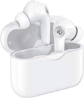 Dudios Audífonos inalámbricos , auriculares Bluetooth 5.0 tipo C Carga rápida / Llamadas estéreo / Controlador de 10 mm / Cancelación de ruido CVC8.0 / IPX7 a prueba de agua / 25 horas de reproducción / Emparejamiento fácil para deportes, ejercicio, gimnasio