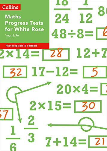 Year 5/P6 Maths Progress Tests for White Rose (Collins Tests & Assessment)