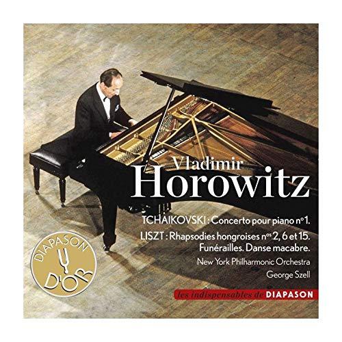 Vladimir Horowitz & Szell-New York Phil Orchestra: Tchaikovski-Piano Concerto N.1-Liszt-Hungarian Rhapsodies 2-6 &15-Danse Macabre [CD]