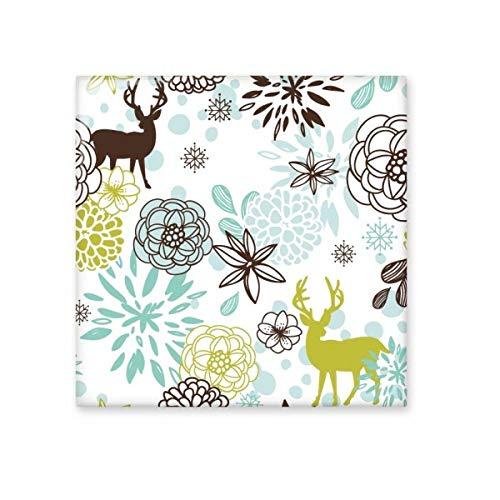 Ciervo Decoración Flor Navidad animales decoración de cerámica crema azulejos baño cocina azulejos de pared azulejos de cerámica