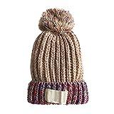 Sombreros de invierno Rehomy, Pompom para niños