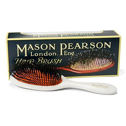 Mason Pearson Brushes Pure Bristle Extra Small B2 White
