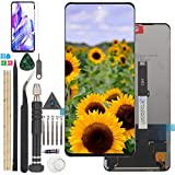 Replacement for Xiaomi Poco X3 Poco X3 NFC LCD Display Touch Screen for Xiaomi MI 10T lite/Note 9 Pro 5G Digitizer Assembly Part with Tools(Black)
