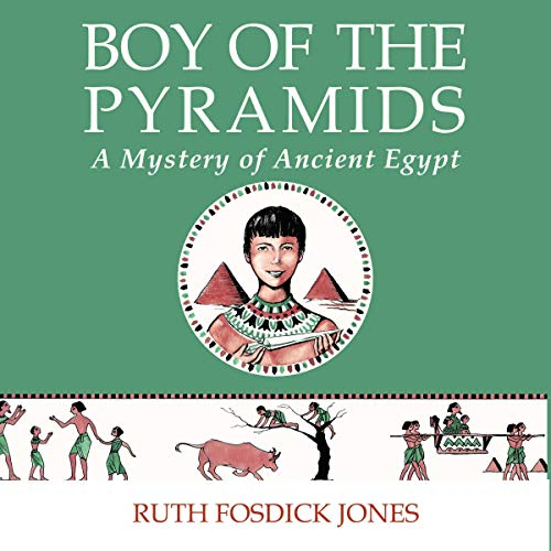 Boy of the Pyramids audiobook cover art