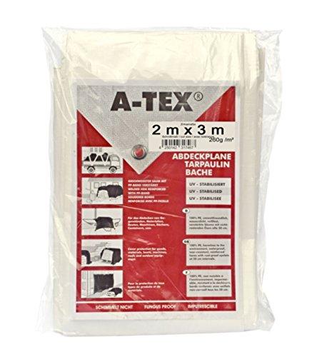 A-Tex gewebeverstärkte Abdeckplane 260 g/m², Größe:2 x 3 m