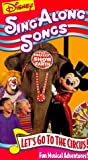 Disney Sing Along Songs - Let's Go to the Circus! [VHS]