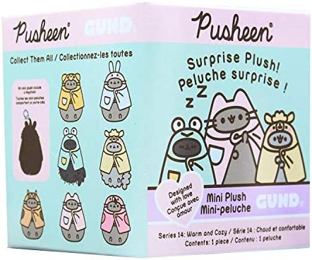 Pusheen Blind Box Series 14 Warm and Cozy Item 6056170 3 Pack Bundle product image