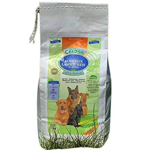 Caldor kaltgepresst | Adult Sensitive Lamm mit Reis | alle Hunderassen | ohne Weizen (1 kg)