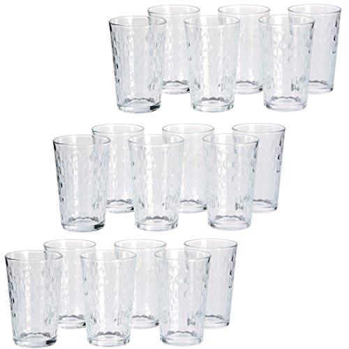 GRÄWE Trinkgläser Wassergläser 18 Stück 200 ml