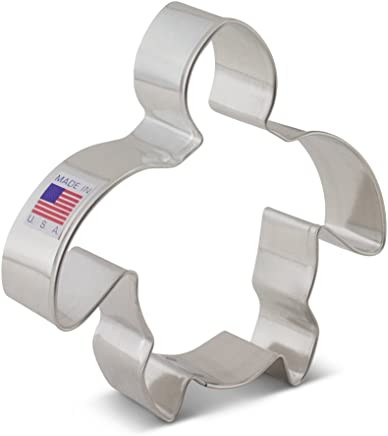 featured product Ann Clark Sea Turtle Cookie Cutter – 4.25 Inches – US Tin Plated Steel