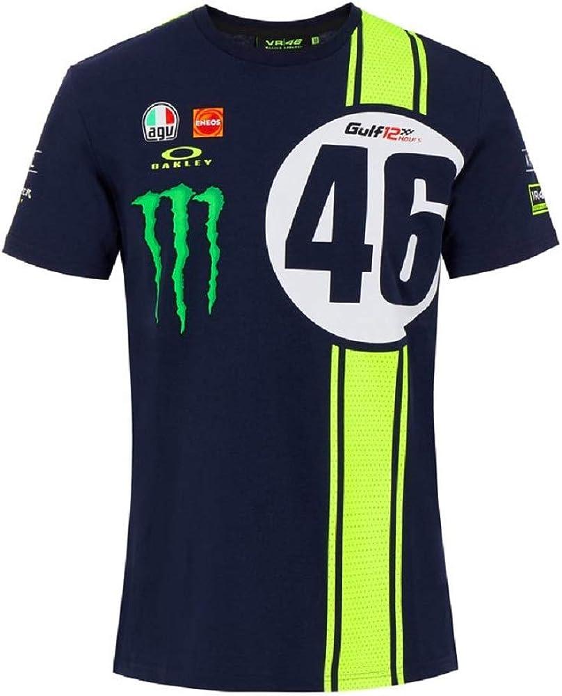Valentino Rossi Herren Abu Dhabi 12hrs Replica T Shirt Bekleidung