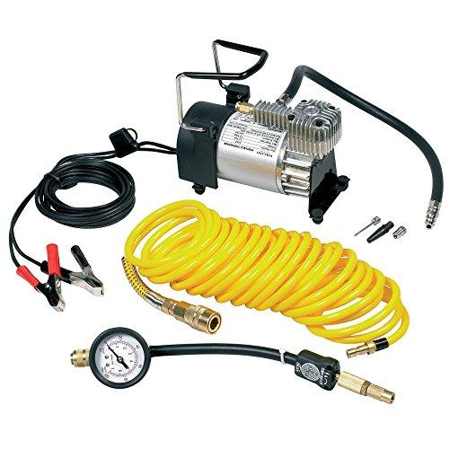 RING RAC900 Hochlast-kompressor mit auf 7 m verlängerbaren Schlauch, Messinganschluss und Tragetasche **PREISGEKRÖNT**, Reifen