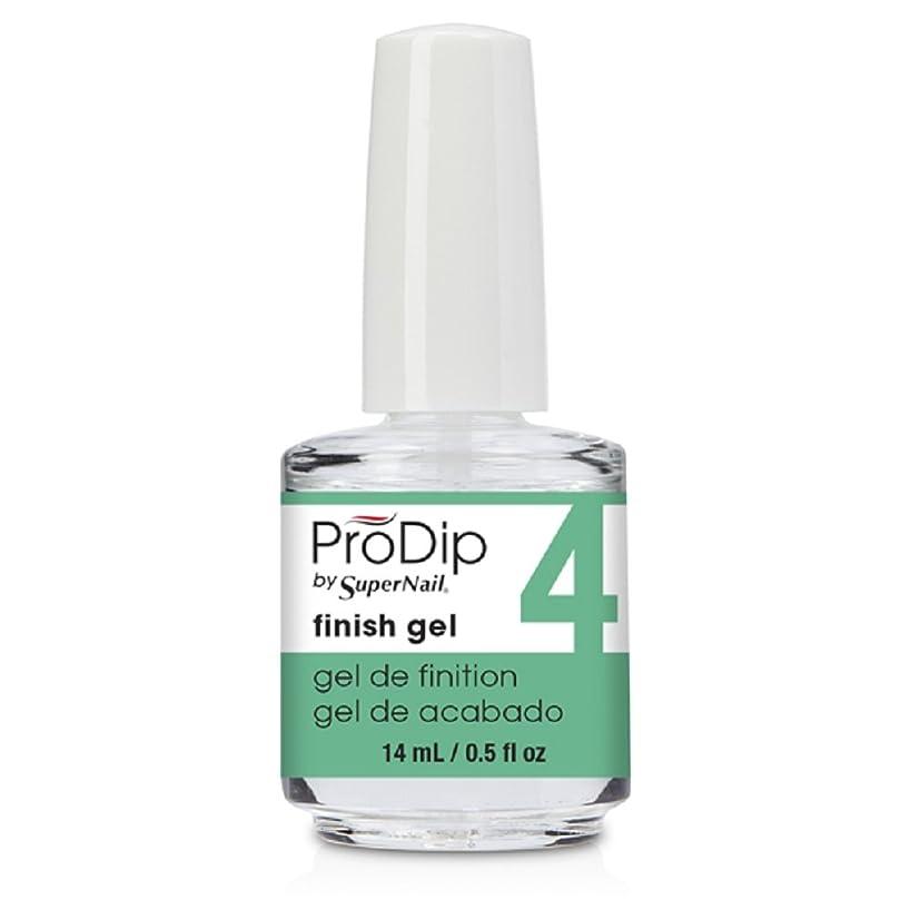ハブブ打ち負かすバレエSuperNail ProDip - Finish Gel - 14 ml/0.5 oz