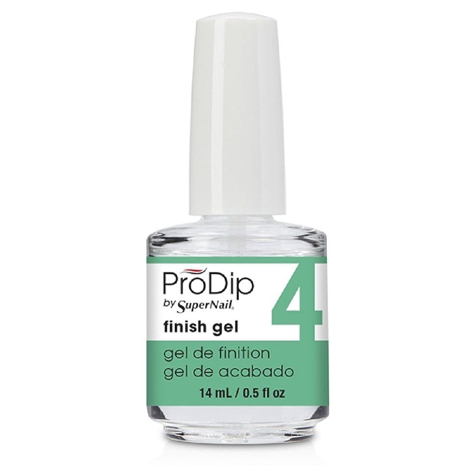予知コミュニティチャンピオンシップSuperNail ProDip - Finish Gel - 14 ml/0.5 oz