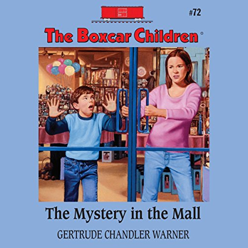 The Mystery in the Mall audiobook cover art