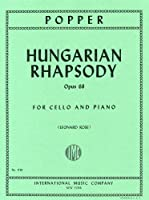 ポッパー: ハンガリー狂詩曲 Op.68/インターナショナル・ミュージック社/ピアノ伴奏付チェロ・ソロ楽譜