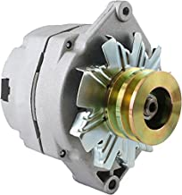 DB Electrical ADR0183 New Alternator for Tractor & Chevy 10SI 1-Wire One Wire with 2 Groove Pulley 7127-SEN-2G