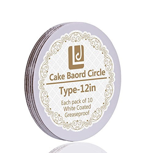 12-Inch Cake Circle, 10-Pack