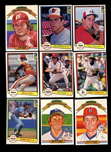 1982 Donruss Baseball Complete 653 Card Set Cal Ripken Jr. Rookie Nrmt/Mt