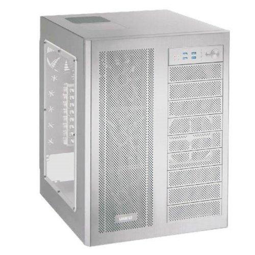 LIANLI フルタワーケース サイドアクリルウィンドウ シルバー PC-D600WA