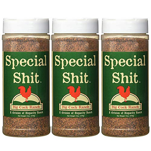 Special Shit Premium All Purpose Seasoning from Big Cock Ranch Pack of 3