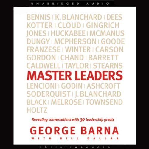 Master Leaders audiobook cover art