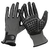 BJYX Fellpflege-Handschuhe, Massagehandschuhe für Hunde und Katzen