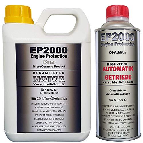Röde-Technik EP2000 Motor & Automatikgetriebe-Additiv [Set] (Motor: 1 l (für 20 l Öl), Automatikgetriebe: 500 ml (für 5 l Öl))