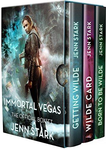 Immortal Vegas Series Box Set Volume 1: Books 0-3 Kindle Edition by Jenn Stark  (Author)