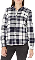 Amazon Brand - Goodthreads Women's Flannel Slim Fit Long Sleeve Shirt