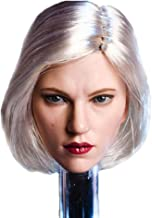 "HiPlay 1/6 Scale Female Figure Head Sculpt, Beauty Charming Girl Doll Head for 12"" Action Figure Phicen, TBLeague DH012"