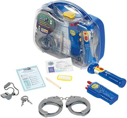 Theo Klein-8892 Police unit ben & sam maleta de comisario de policía, juguete, Multicolor (8892)