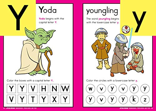 Star Wars Workbook: Preschool ABC Fun (Star Wars Workbooks)