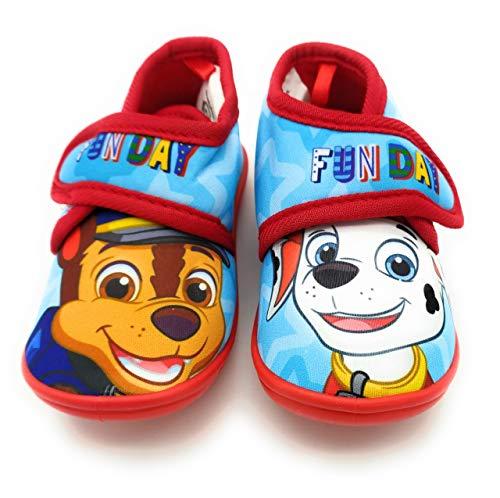 Zapatillas de Estar por casa para niños, Patrulla Canina. Suela Antideslizante. (Numeric_24)