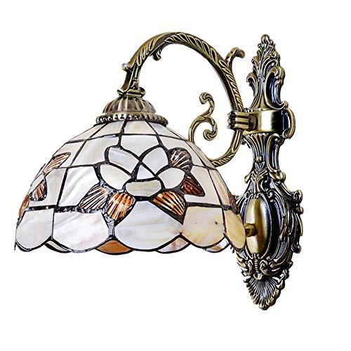 Wandlamp meerkleurig in libelle gespiegeld E27Gallery Wall Lights Passage halway Light wandlamp victoriaans LED wandlamp vloerlamp van gekleurd glas voor