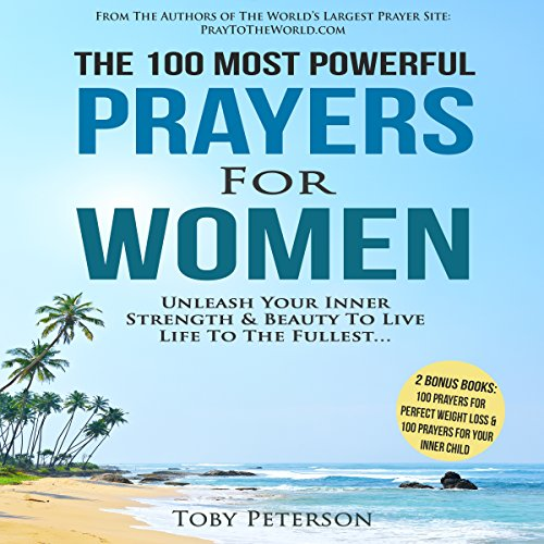 The 100 Most Powerful Prayers for Women audiobook cover art