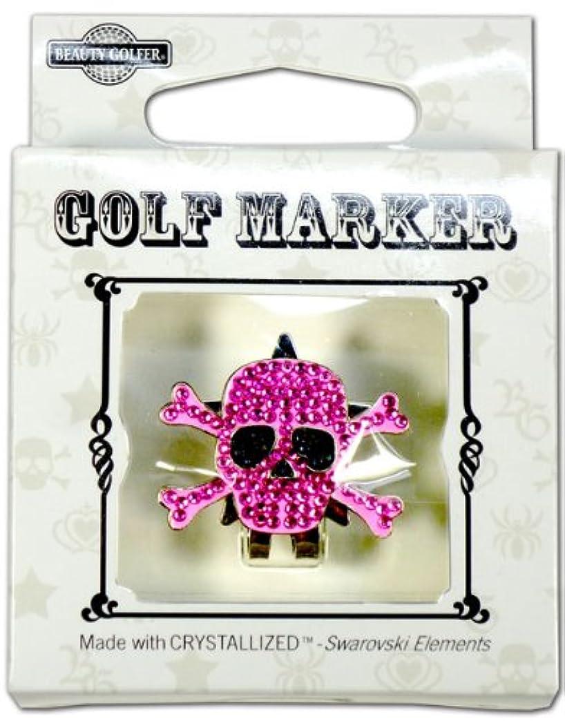 一般的に言えば脈拍組ゴルフ マーカー BG-17 ドクロ ムラサキ