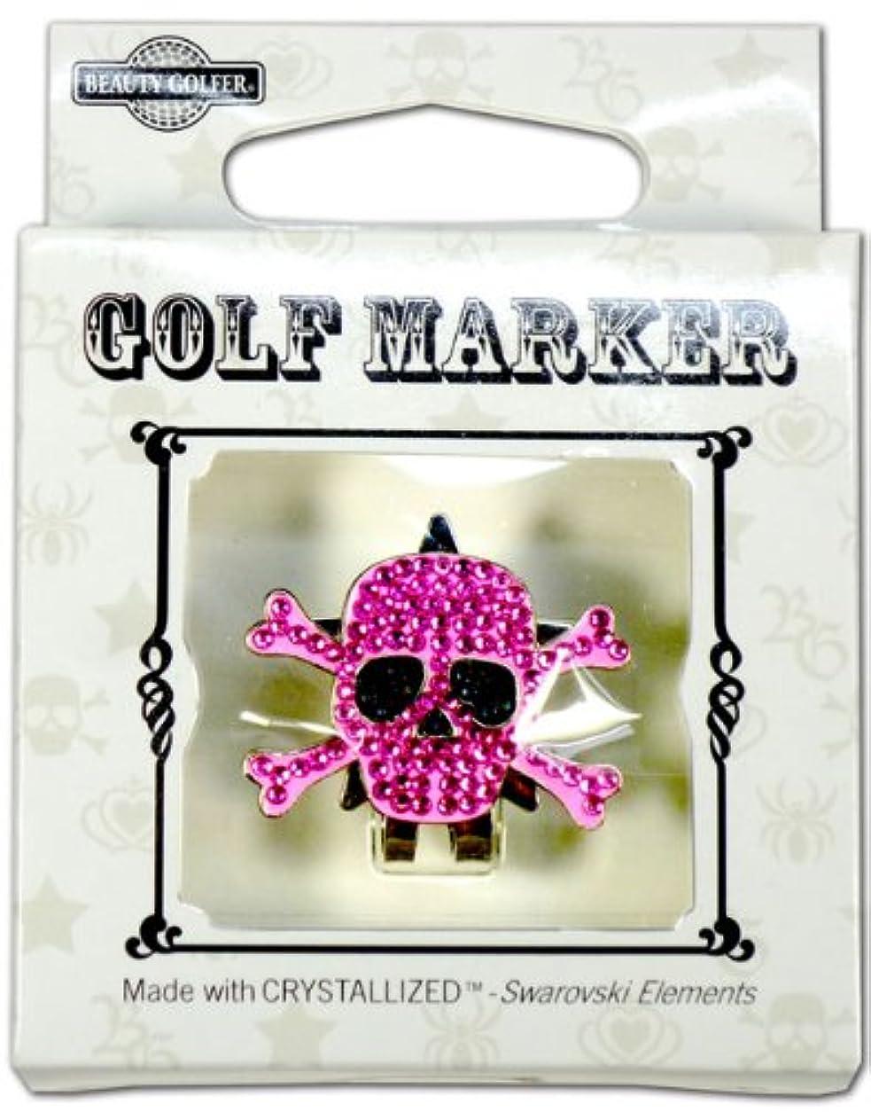 出費発明する残りゴルフ マーカー BG-17 ドクロ ムラサキ