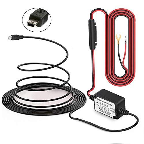 Car DVR Camera Recorder Wire Dash Cam Hardwire USB Power Cable Black For Camera