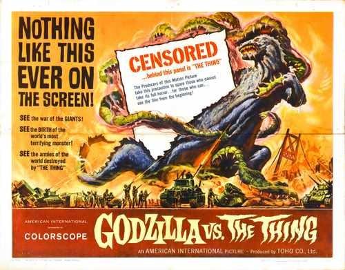 Mothra Vs Godzilla Poster 02 Photo A4 10x8 Poster Print