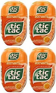 Tic Tac Mints, Orange Flavored Mints , 800 Count