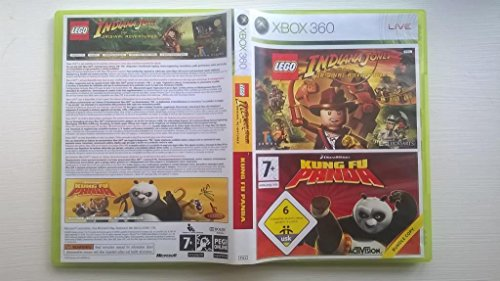 Lego Indiana Jones & Kung Fu Panda Double Pack Game XBOX 360 [UK Import]