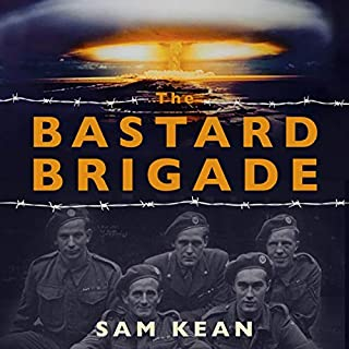 The Bastard Brigade audiobook cover art