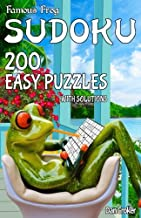 Famous Frog Sudoku 200 Easy Puzzles With Solutions: A Take a Break Series Pocket Size Book (Volume 17)