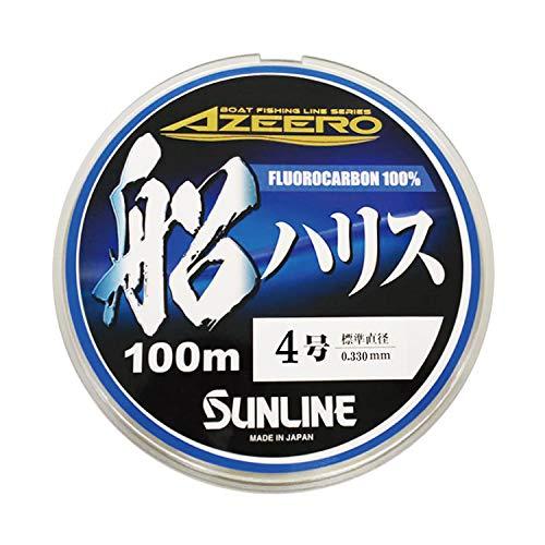 サンライン(SUNLINE) ハリス アジーロ 船ハリス HG 100m #4